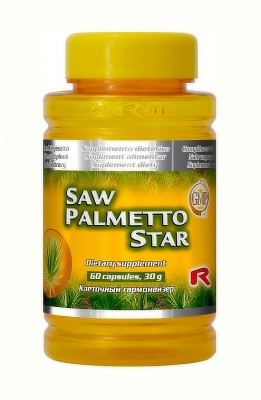 Saw Palmetto Star 60 kapsúl